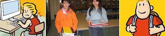 3,4 millones de chavales españoles inician el curso escolar con mochilas sobrecargadas
