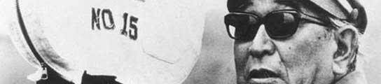 El cineasta japonés Akira Kurosawa.