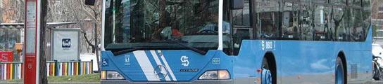 La EMT prohibirá en el bus llevar mochilas a la espalda