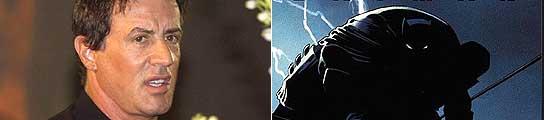 Sylvester Stallone y una imagen de 'El regreso del señor de la noche'.