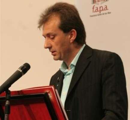 El presidente de la FAPA Giner de los Ríos, José Luis Pazos.