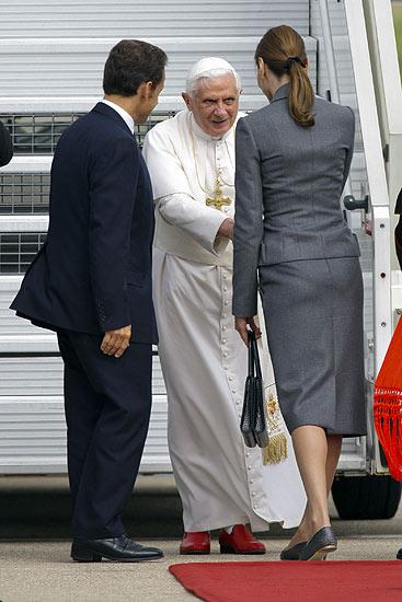 Primera visita del Papa