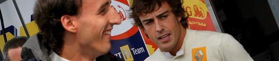Fernando Alonso y Robert Kubica