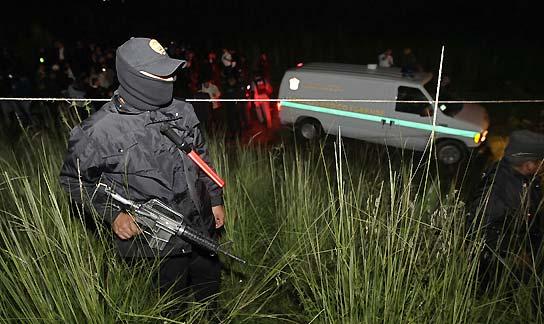 24 personas asesinadas en México