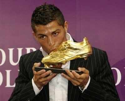 Cristiano Ronaldo bota de oro