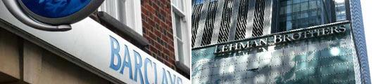 Lehman Brothers y barcleys