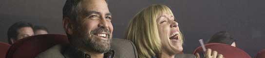 George Clooney y Frances McDormand en 'Quemar después de leer'.