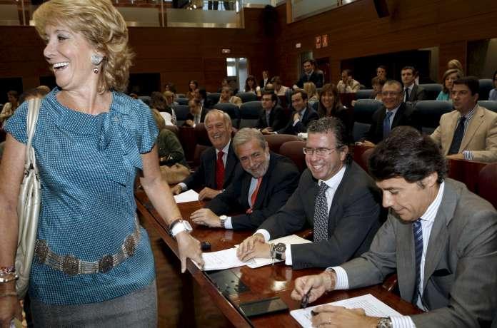 Esperanza Aguirre en la Cámara