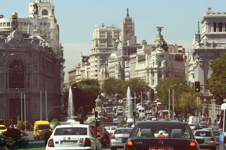 En las calles del centro de madrid es m s r pido ir - Centros de jardineria madrid ...
