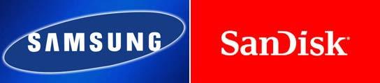 Samsung y Sandisk