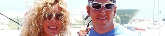 Blanca Cuesta y Borja Thyssen, en una imagen de archivo.