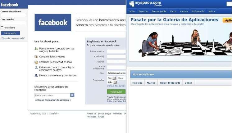 Facebook/Myspace