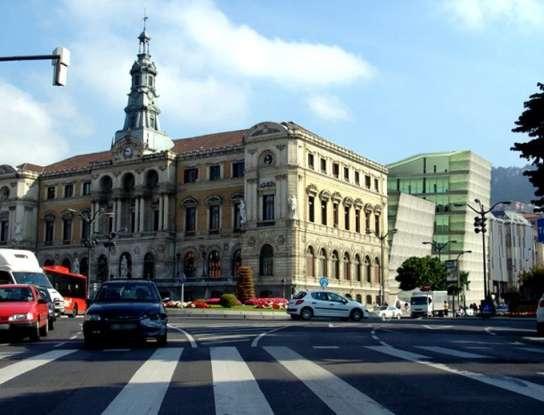 Montaje del nuevo Ayuntamiento