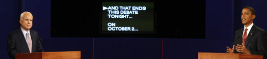 Debate Obama - McCain