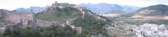 El castillo de Sagunto es el más importante de España