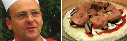 El cocinero serbio Ljubomir Erovic