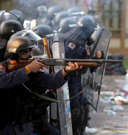 Disturbios en Tailandia