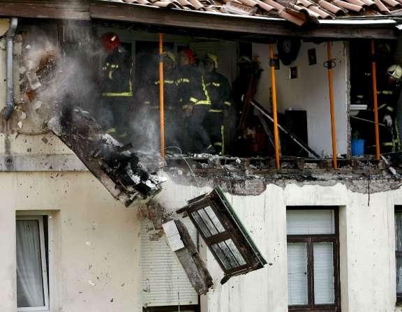 Explosión en Santander