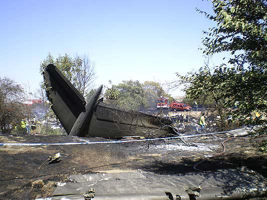 Accidente Barajas