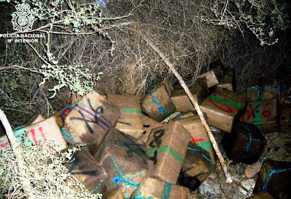 Cuatro toneladas de hachís en Almería