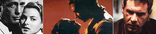 'Casablanca', 'Lo que el viento se llevó' y 'Blade Runner'.