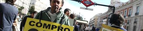 Gallardón no prohibirá finalmente los hombres-anuncio en las calles de Madrid