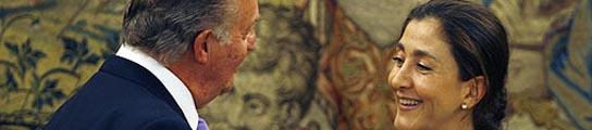 Betancourt saluda al Rey en su última visita a España