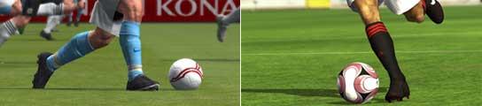 Pro Evolution Soccer 2009 y FIFA 09