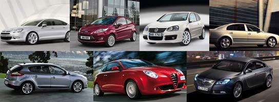 Los siete modelos europeos que han llegado a la final
