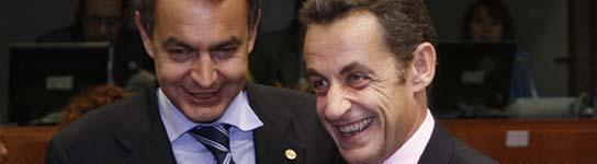 Sarkozy y Zapa