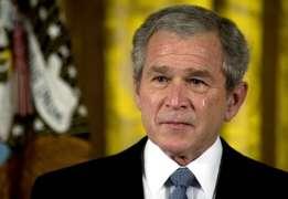 Las lágrimas de Bush.