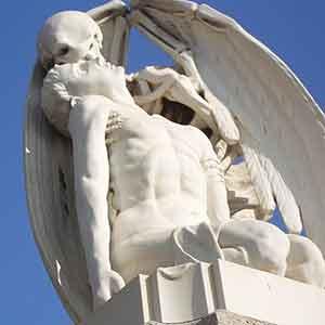 El beso de la muerte, en Poble Nou.