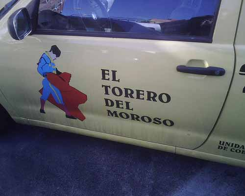 el 'torero Del Moroso'