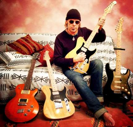 Javier Vargas, de la Vargas Blues Band.