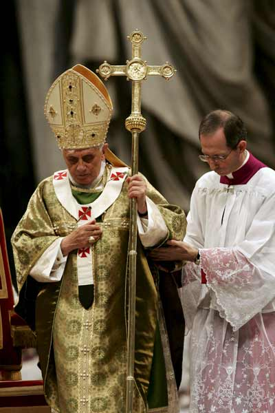 El Papa en la clausura del Sínodo de Obispos.