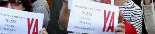 Pancarta en mano