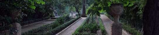 Jardín del Cármen de los Mártires en Granada.