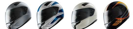 Modelos del casco Sport