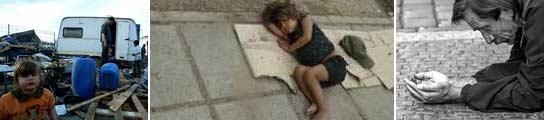La pobreza es una amenaza real para una parte importante de la población