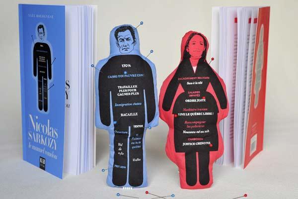 Los muñecos vudú de Sarkozy y Royal
