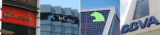 Principales bancos españoles.