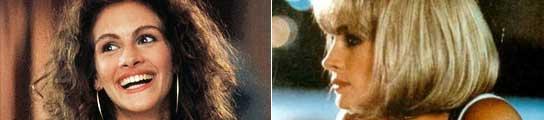 Julia Roberts, en dos escenas de 'Pretty Woman'.