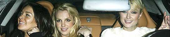 Paris Hilton, Lindsay Lohan y Britney Spears