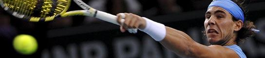 Nadal derrota al francés Monfils y se mete en los cuartos de final del Masters de París