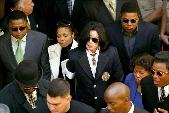Michael y Janet Jackson