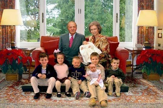 Felicitación navideña de la Casa Real de 2005