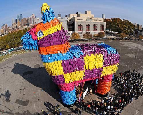Piñata más grande (03/11/2008)