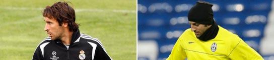 Raúl y Del Piero
