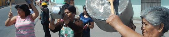 Dos muertos en Perú durante las protestas contra el reparto del canon minero