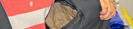 Siete detenidos que robaban con bolsos forrados de aluminio para burlar las alarmas